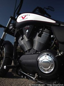 Victory 1700 High-Ball : V-twin moderne