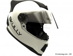 Casques moto : Skully chute en plein vol