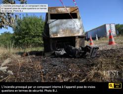 Dans le Doubs, un radar autonome a pris feu tout (...)