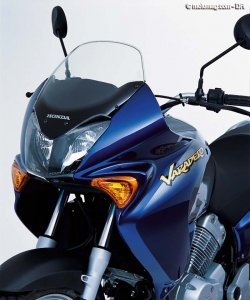 Honda 125 Varadero : protection ok