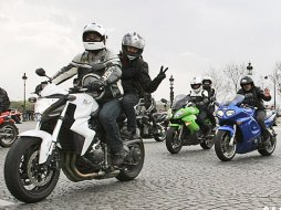 Contre l'interdiction des motos en ville : action (...)