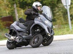 piaggio mp3 500 lt sport touring moto magazine leader de l actualit de la moto et du motard. Black Bedroom Furniture Sets. Home Design Ideas