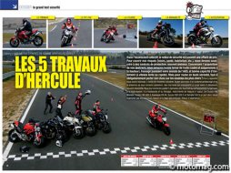 Le grand test sécurité : Ducati 696 Monster - Honda CBF (...)