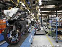 Industrie moto : Yamaha made in France à Saint-Quentin (...)