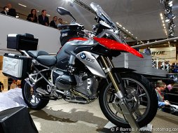 Salon moto de Cologne 2012 : BMW R 1200 GS « Water (...)