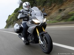 "Aprilia 1200 Caponord ""Travel Pack"" : le trail (...)"