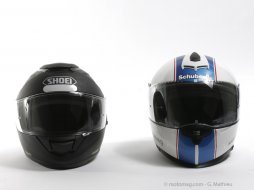 conso schuberth s2 shoei gt air le match des. Black Bedroom Furniture Sets. Home Design Ideas