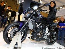 nouveaut moto 2014 yamaha mt 07 moto magazine leader de l actualit de la moto et du motard. Black Bedroom Furniture Sets. Home Design Ideas
