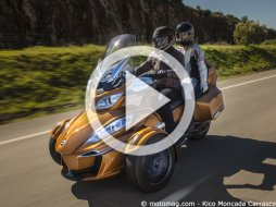 Can-Am Spyder RT Sport : un pas de plus vers l'automobil