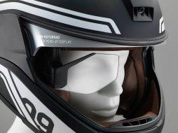 casque moto vision tete haute