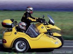 side car bmw r 1150 gs eml gt 2001 moto magazine leader de l actualit de la moto et du motard. Black Bedroom Furniture Sets. Home Design Ideas