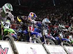 Supercross de Bercy 2009 : King surprise !