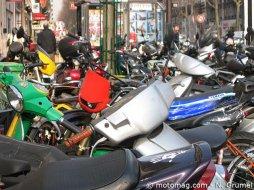 stationnement deux roues paris br le t il moto magazine leader de l actualit de la moto. Black Bedroom Furniture Sets. Home Design Ideas