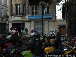 Manif moto clermont ferrand 63 1200 motards chez - Chambre chez l habitant clermont ferrand ...