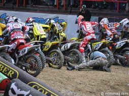 Le Supercross de Bercy 2010 vu des paddocks (+ 7 (...)