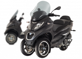 Scooter 3-roues : Piaggio attaque ses concurrents en (...)