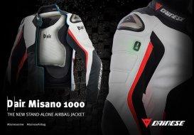 dainese d air misano 1000 un blouson airbag autonome moto magazine leader de l actualit de. Black Bedroom Furniture Sets. Home Design Ideas