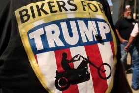Bikers For Trump, les loups de l'Amérique