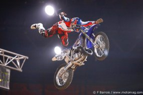 Freestyle motocross : Tom Pagès enflamme Bercy (...)