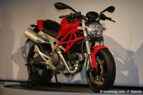 milan ducati 696 monster moto magazine leader de l actualit de la moto et du motard. Black Bedroom Furniture Sets. Home Design Ideas
