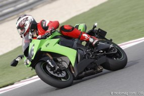 Kawasaki ZX 10-R : plus stable !
