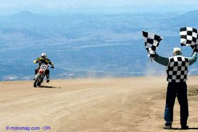 Pike's Peak, course moto de folie au Colorado