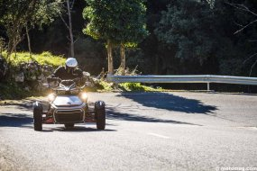 Can-Am Spyder F3 : tendance sport