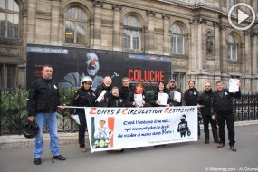 Interdictions de circulation : la FFMC Paris tracte (...)