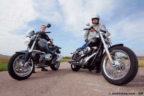 Match BMW R 1200 R / Harley-Davidson 1584 Dyna Low (...)