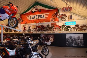 L'importante collection du Laverda Museum (...)