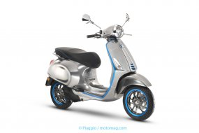 Piaggio annonce la mise en production de son Vespa « (...)