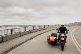 Collaboration USA-Russie : Ural lance son side-car (...)