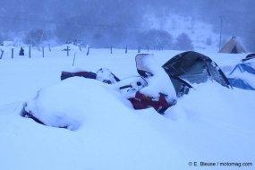 Motos gelées, tombées, ensevelies : l'hivernale dantesque du Vercors Arton35384-7ef75