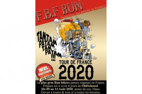 Run bikers Tour de France 2020