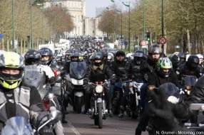 Manifestation FFMC à Paris : 3000 motards contre (...)