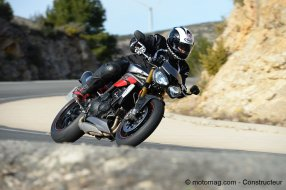 Triumph Speed Triple 1050 R : objectif sensations