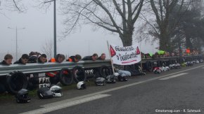 Manifestation à Rennes contre les « guillotines à motards (...)