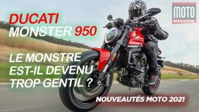 [VIDEO] La Ducati Monster 2021 en essai