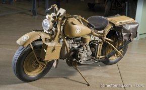 des motos de la seconde guerre mondiale vendues aux moto magazine leader de l. Black Bedroom Furniture Sets. Home Design Ideas