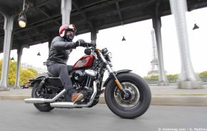 Harley-Davidson Forty-Eight 2016 : cool aptitudes