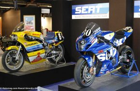 Salon Moto Légende 2015 : la passion contre vents et (...)