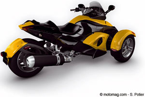 Can-Am Spyder : finition