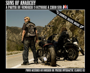 DVD Sons of Anarchy : 13 épisodes à offrir