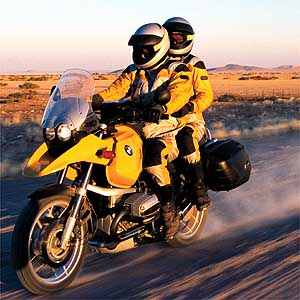BMW R 1150 GS : long court