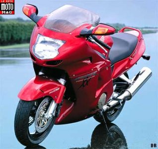 Honda CBR 1100 XX : protection