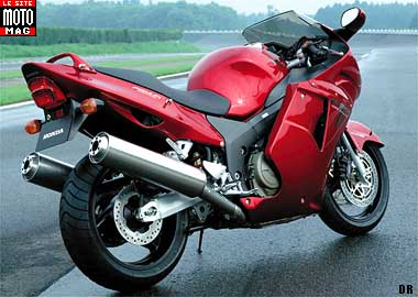 Honda CBR 1100 XX : suspension