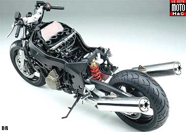 Honda CBR 1100 XX : partie cycle