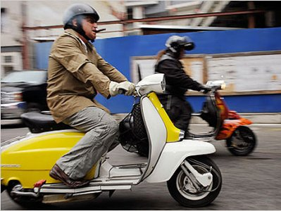Vespa à New York : question d'essence