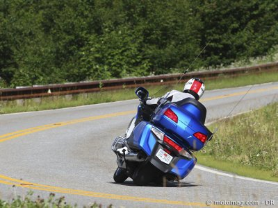 Essai Honda 1800 Goldwing : garde au sol