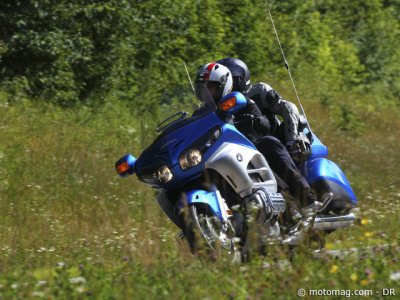 Essai Honda 1800 Goldwing : duo de luxe